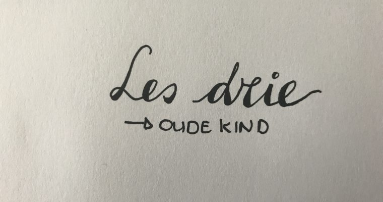 Les drie: oude kind